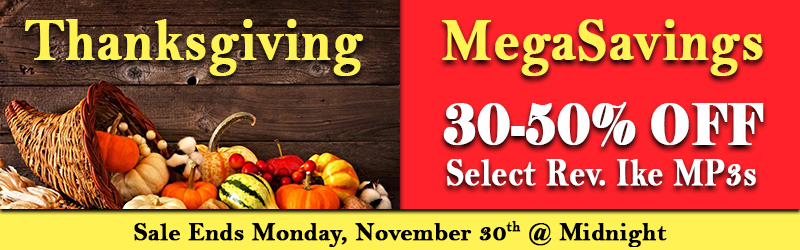 30-50% Thanksgiving MegaSavings Sale